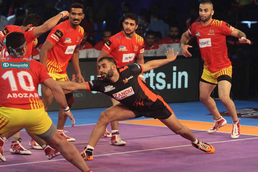Pro Kabaddi League 2017: Gujarat Fortunegiants Thrash U Mumba 39-21