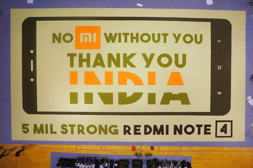 Xiaomi Creates World Record to Mark 5 Mn Sales of Redmi Note 4