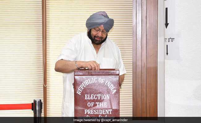 Presidential Election 2017: Punjab And Haryana Chief Ministers Cast Votes