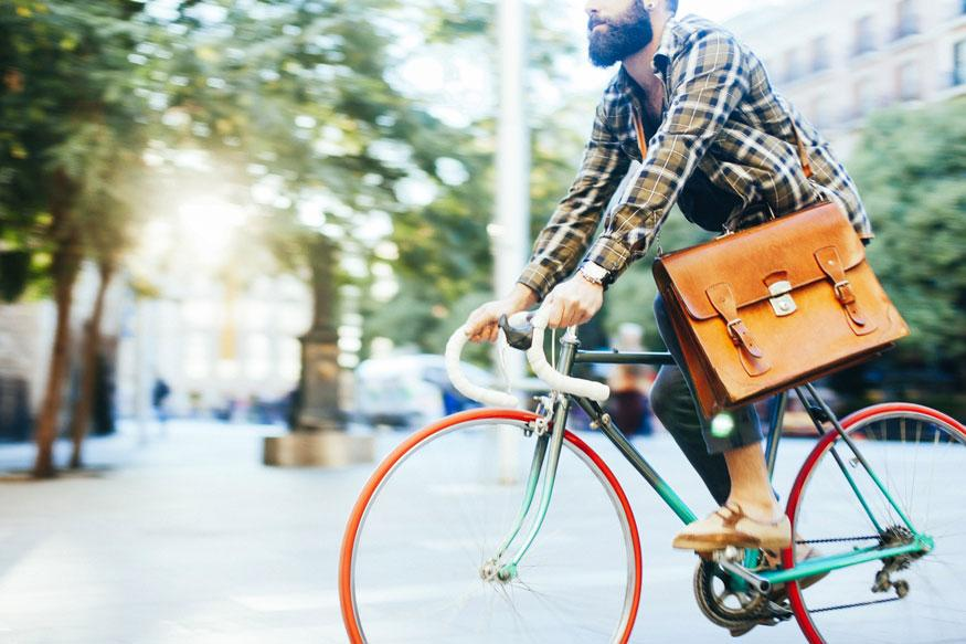 Cycling to Work Can Reduce Stress And Get Your Day Off to a Better Start