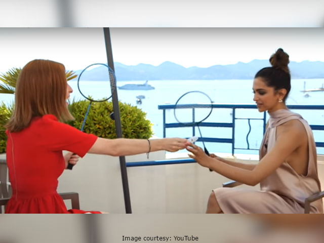 Cannes Film Festival: Deepika Padukone Plays Badminton With Reporter, 'Sets Record Straight' About Vin Diesel