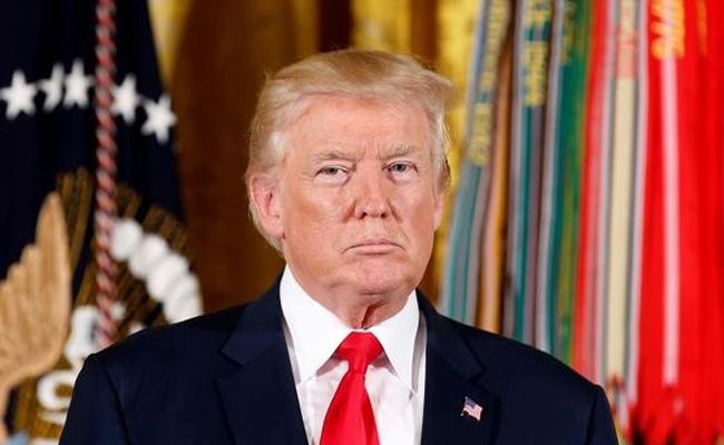 Donald Trump Says US Military 'Locked And Loaded' On North Korea