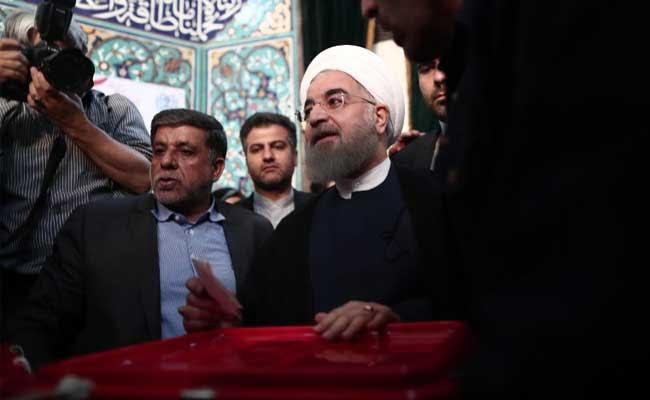 Iran Votes In Verdict On President Hassan Rouhani's Economy, Diplomacy