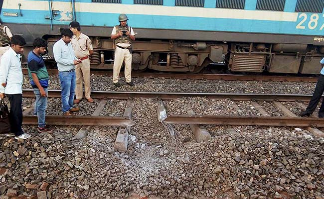 Trains Stop After Maoists Blow Up Tracks in Jharkhand