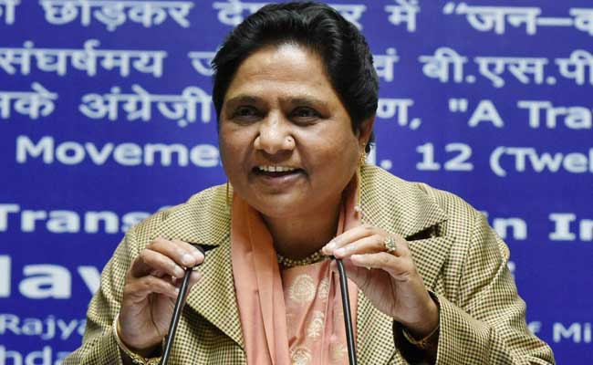 Happy That Dalit Will Be The Next President Of India: Mayawati