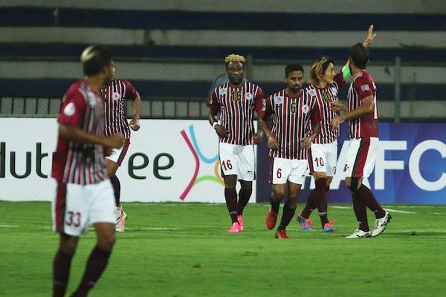 AFC Cup: Late Goals Earn Mohun Bagan Win Over Bengaluru FC