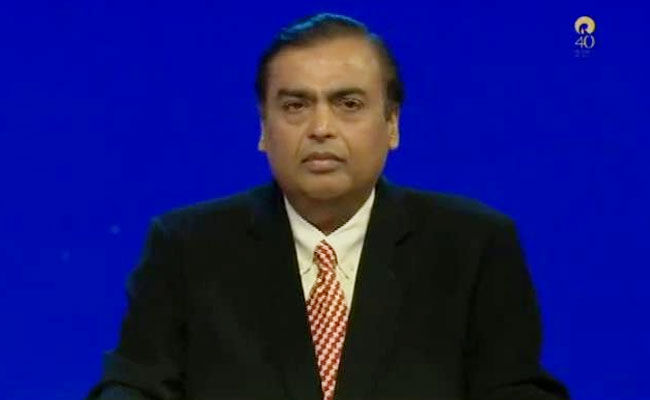 Mukesh Ambani's Speech At Reliance Industries' 40th AGM: Full Text