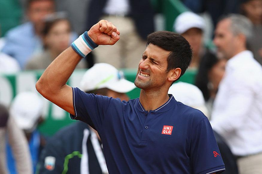 Novak Djokovic Struggles To Get Past Gilles Simon At Monte Carlo