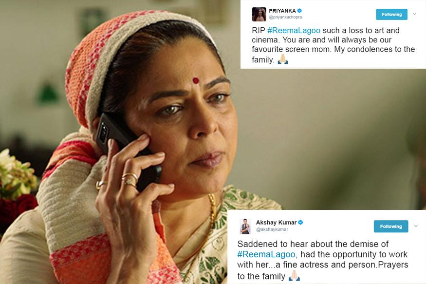 Sanjay Dutt to Akshay: Bollywood mourns Reema Lagoo's Demise