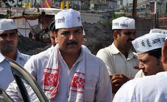 Punjab AAP Chief Sanjay Singh Offers To Resign After Delhi Rout