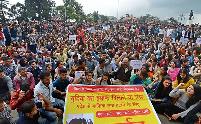 Protests Continue In Shimla Over Schoolgirl's Rape And Murder