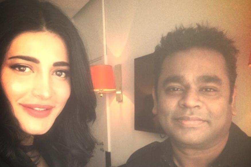 AR Rahman, Shruti Haasan Are At Cannes 2017 For Their Film Sangamithra
