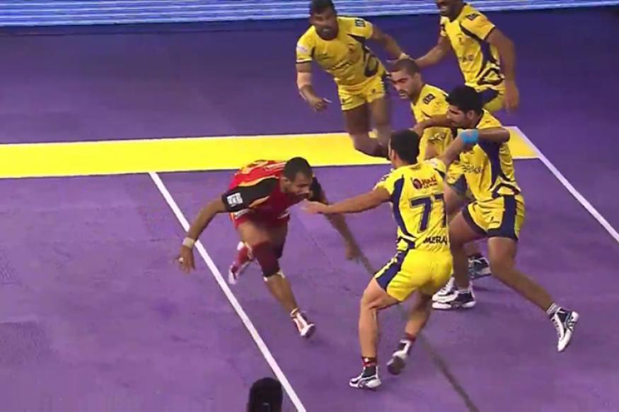 Pro Kabaddi 2017: Telugu Titans Crush U Mumba 37-32