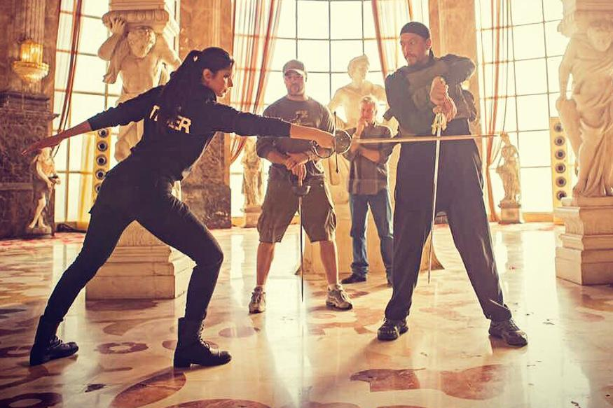 Tiger Zinda Hai: Ali Shares a Stunt Video that Salman is Likely to Perform