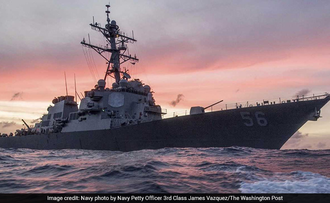 Five Sailors Injured, 10 Missing After Navy Destroyer Collides With A Merchant Ship