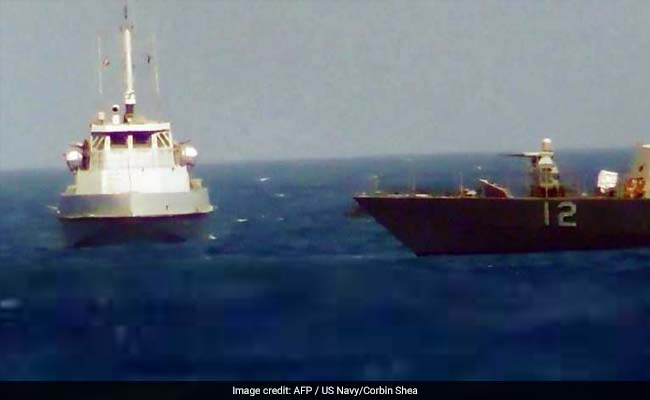 An Iranian Ship Did Not Heed The US Navy's Warning. Then Shots Were Fired