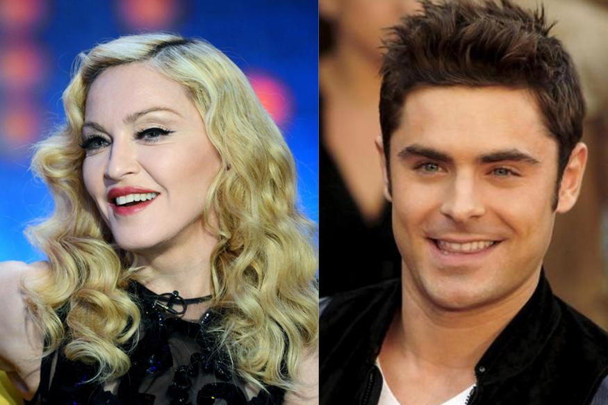 Madonna Is Amazing And Captivating: Zac Efron